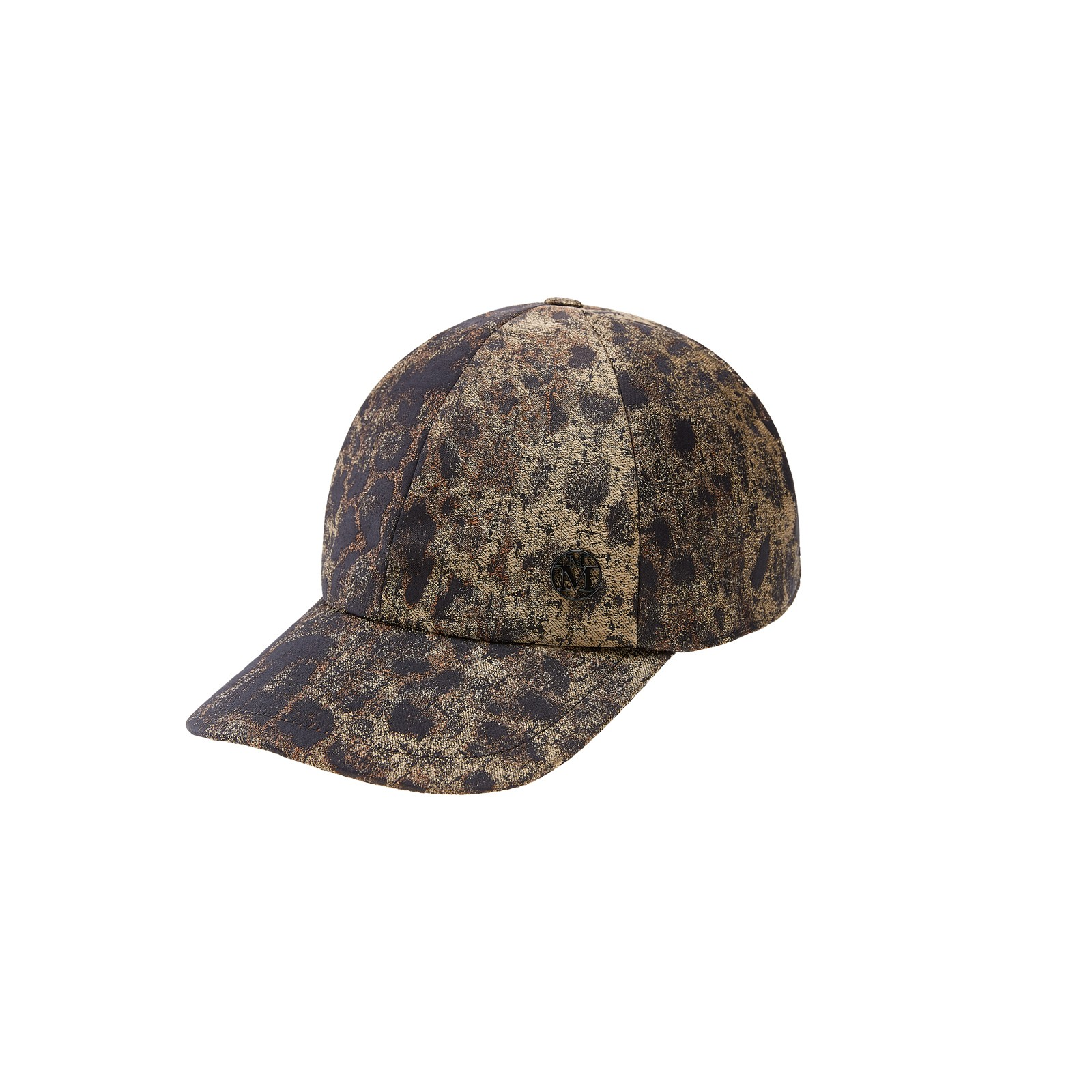 Panther fabric baseball cap